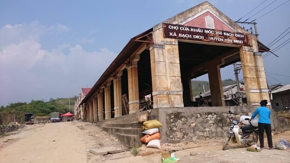 Cửa khẩu Bạch Đích - Hà Giang