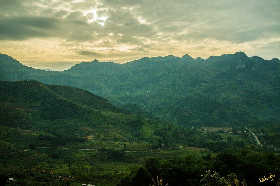 Dốc Bắc Sum - Hà Giang