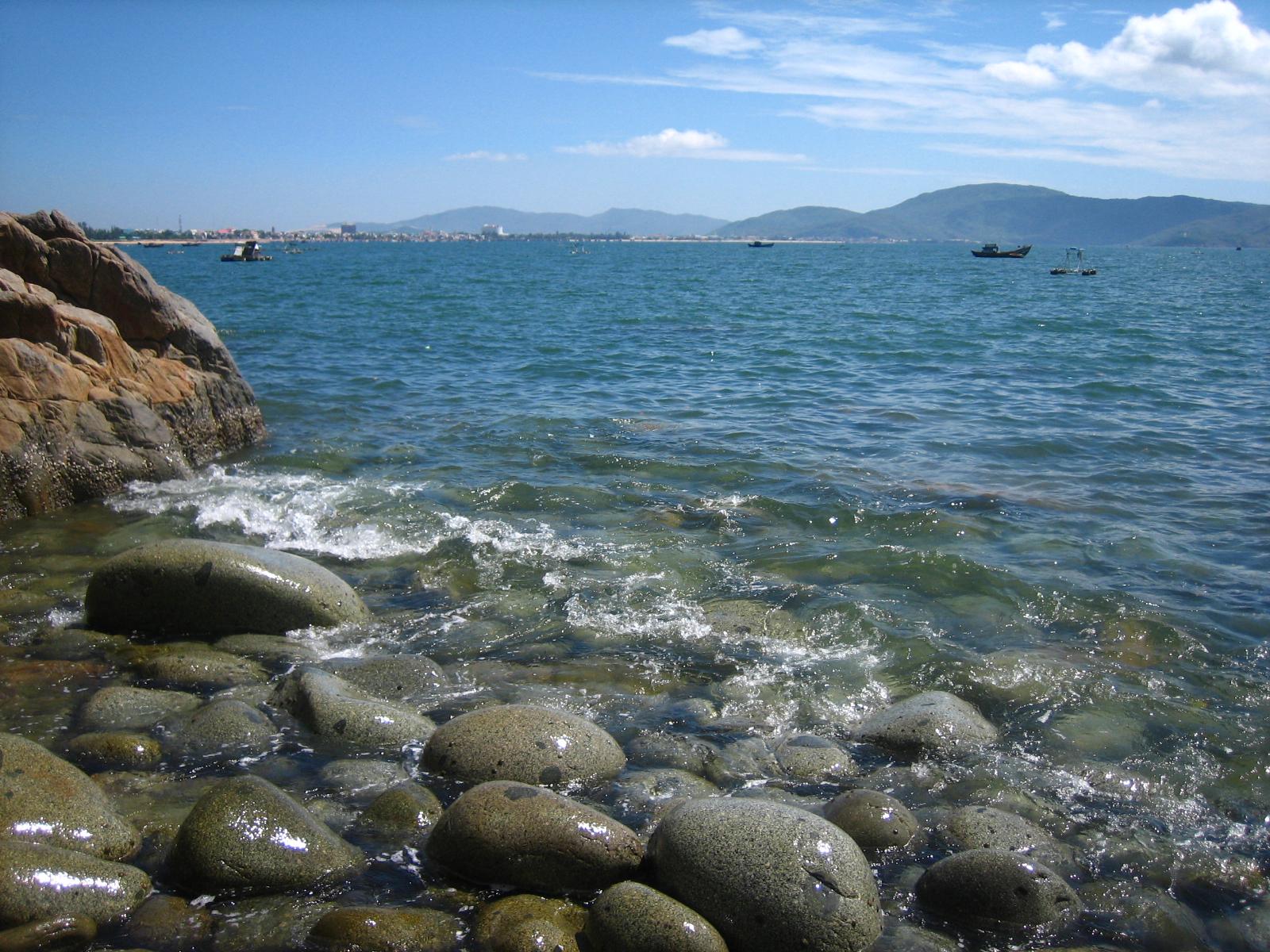 Biển Quy Nhơn Bình Định tháng 1