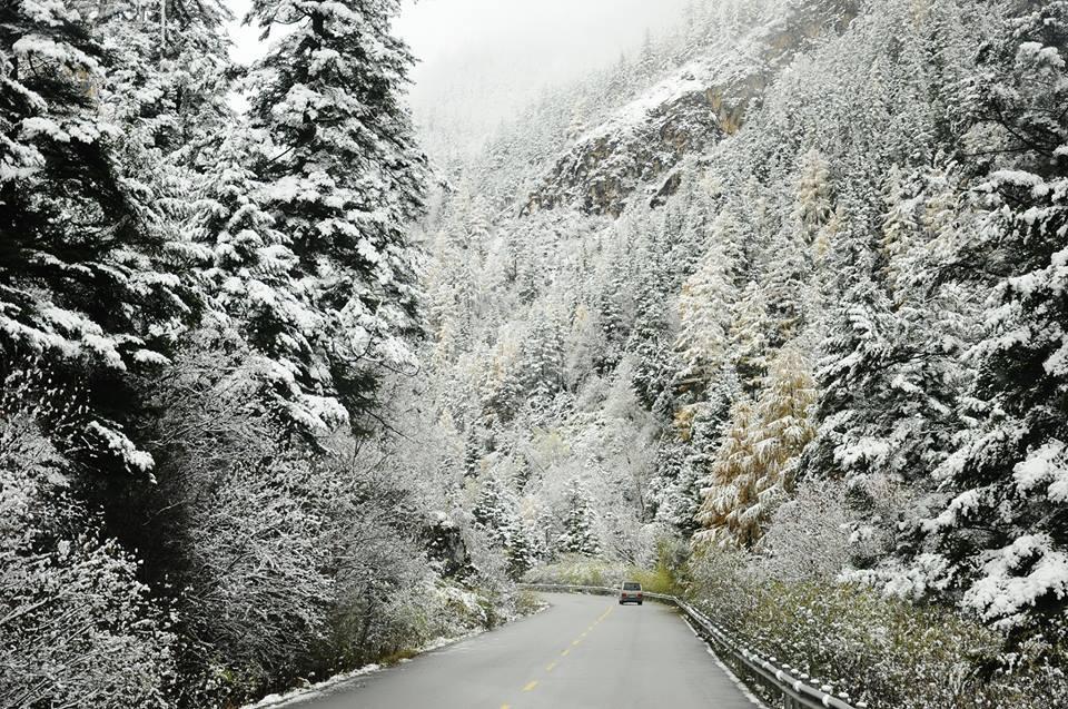 Tuyết rơi ở Sapa Lào Cai tháng 2