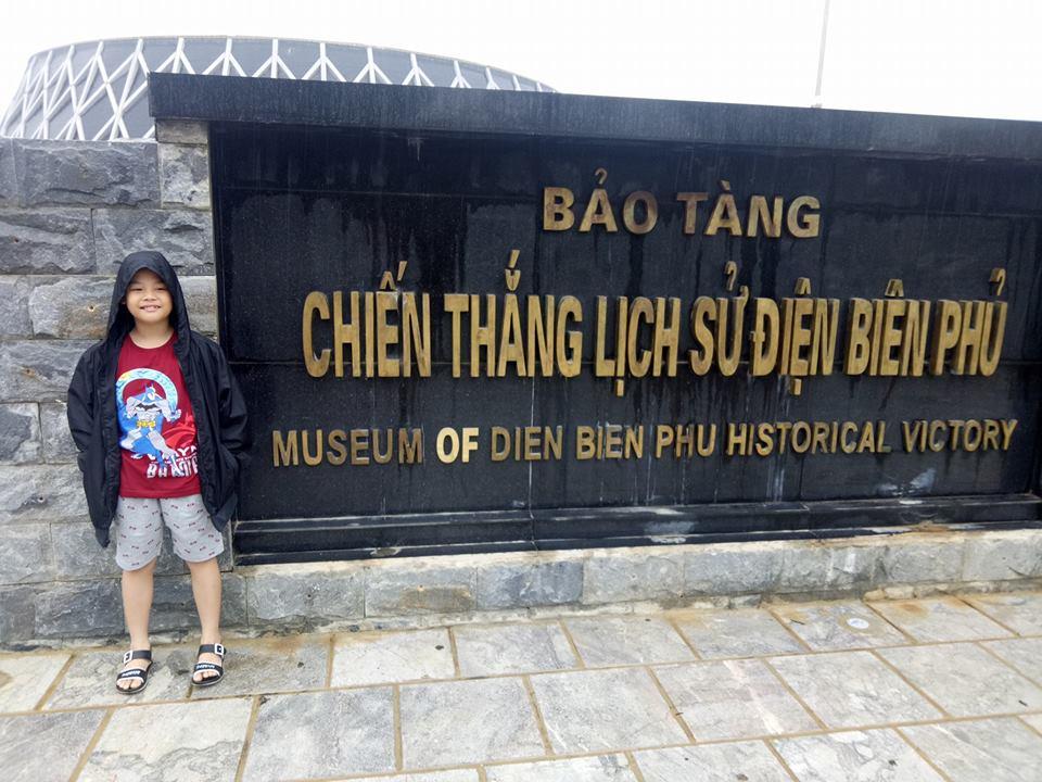 Cổng vào bảo tàng chiến thắng Điện Biên Phủ