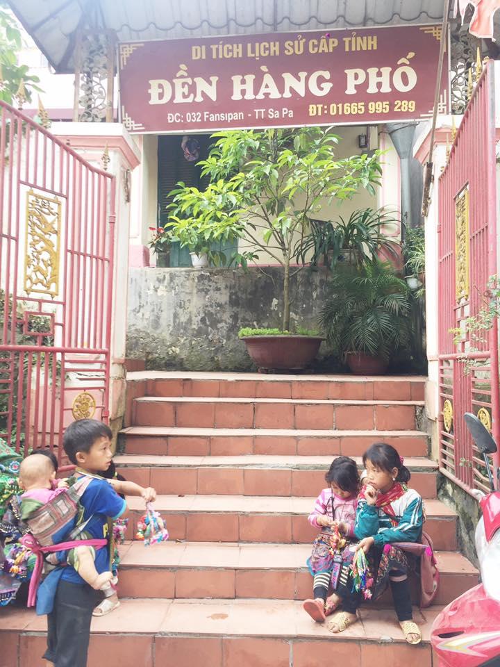 Đền Hàng Phố Lào Cai