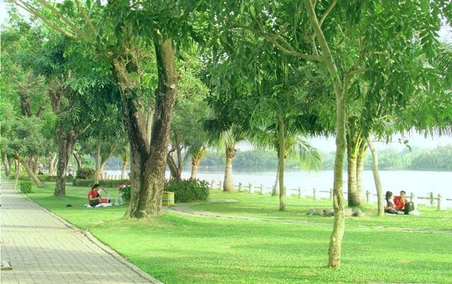 Công viên bờ sông Panorama Sài Gòn