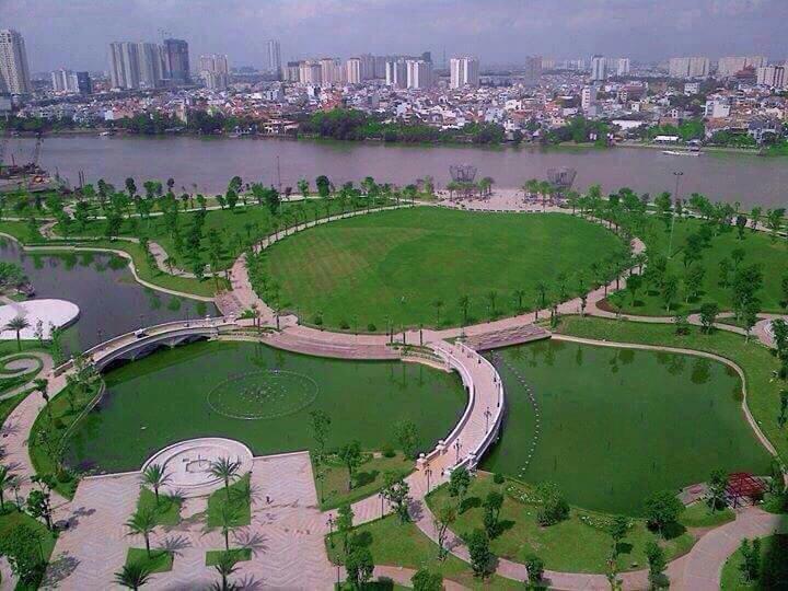 Công viên Vinhomes Sentral Park Sài Gòn