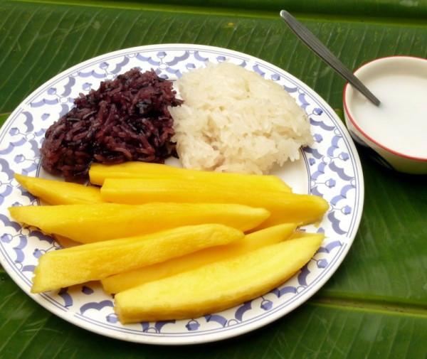 đi thái lan nên ăn gì Khao nia mamuang